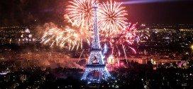 Vatromet u Parizu, 14 juli 2013, dan republike