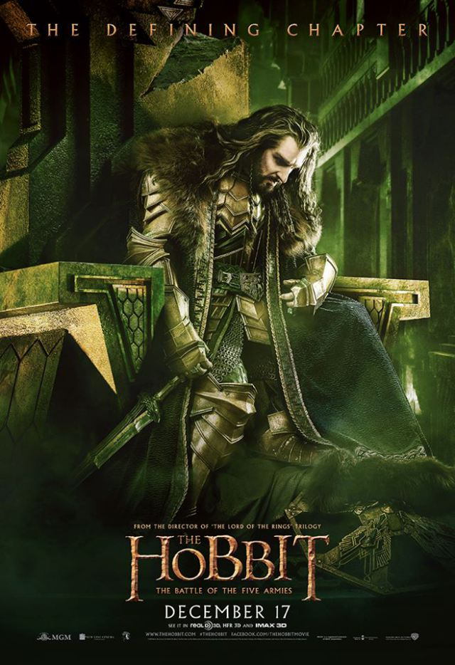 The-Hobbit-TBOTFA-theatrical-poster-Thorin