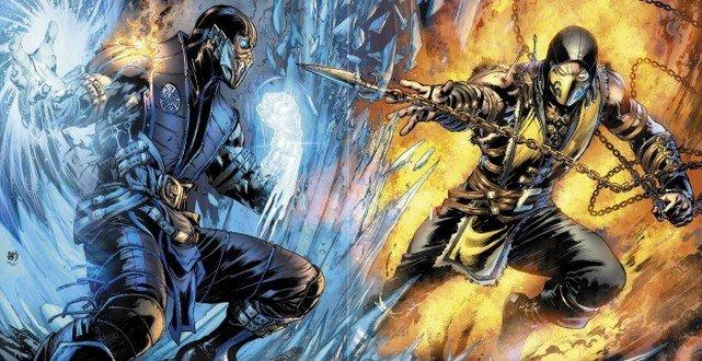 Mortal Kombat X strip mega blog baner