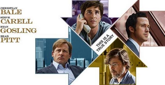 Opklada veka (The Big Short) – Ryan Gosling, Christian Bale, Steve Carell i Brad Pitt zajedno na filmu