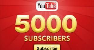 Youtube kanal Mega bloga – Filmski trejleri je dostigao 5000 pretplatnika!