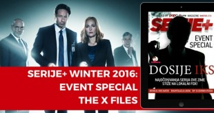 Serije+ WINTER 2016  EVENT SPECIAL – THE X FILES