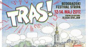TRAS! Prvi Beogradski festival stripa od 12. do 14. maja